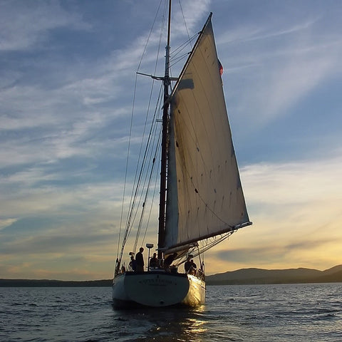Camden Windjammer Sunset Sail
