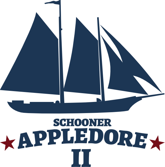 Schooner Appledore II Drawing