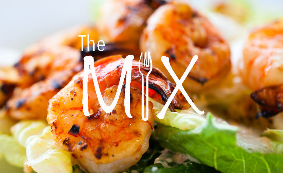 The Mix – Episode 2 – Making a shrimp salad Dr. Kan & Shelby