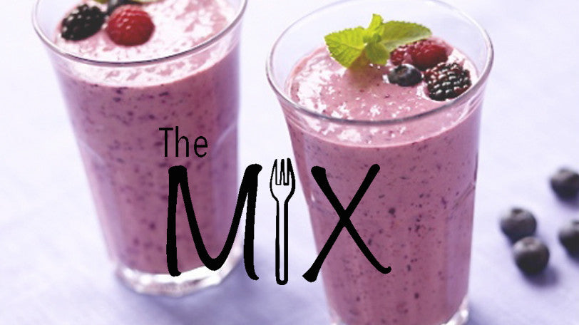 The Mix - Episode 4 - Making a purple smoothie