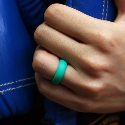 Women's Classic Silicone Ring - Teal