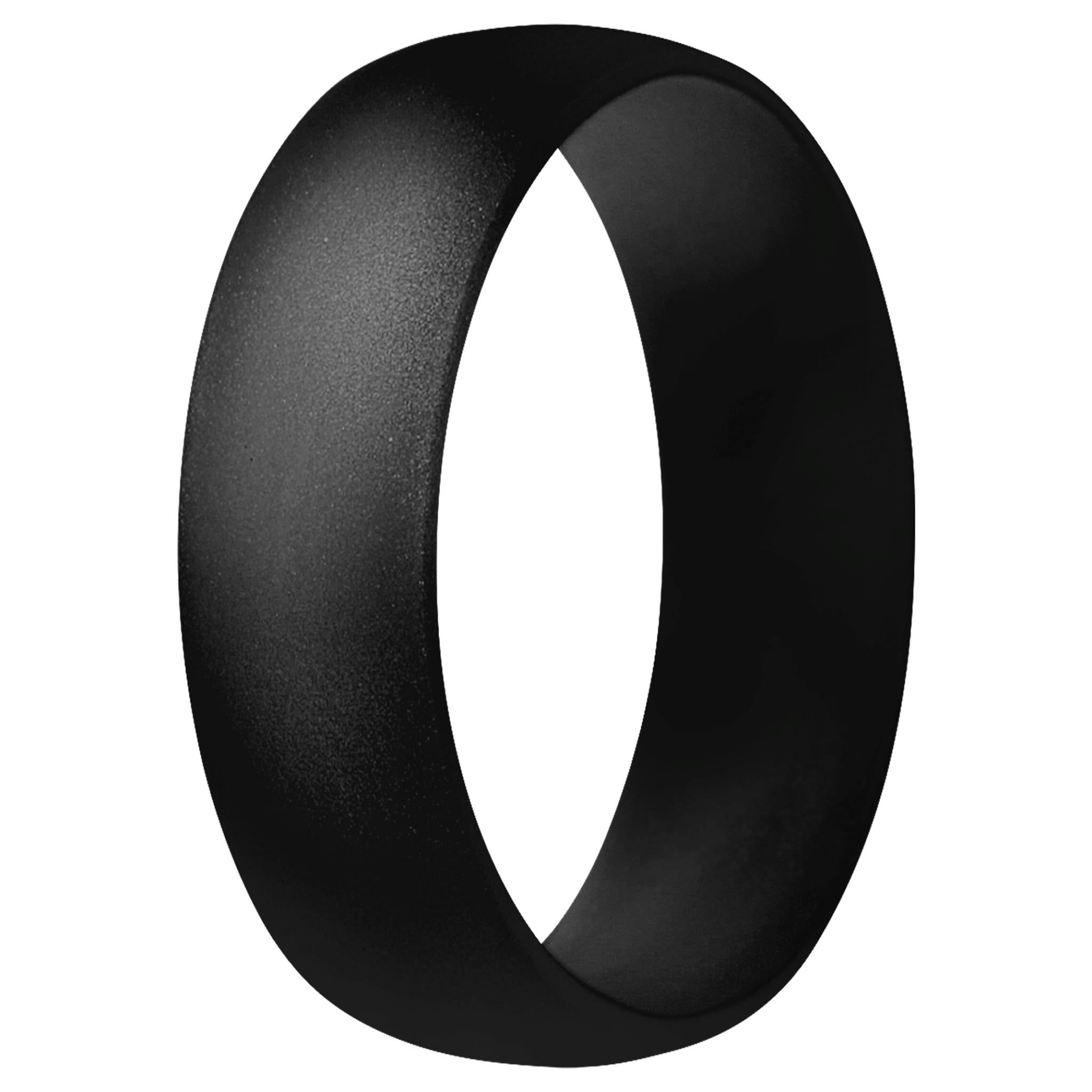 Classic Men & Women Rings - Black