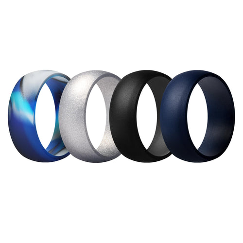 Men's Rings 4 Pack Round - 3rd