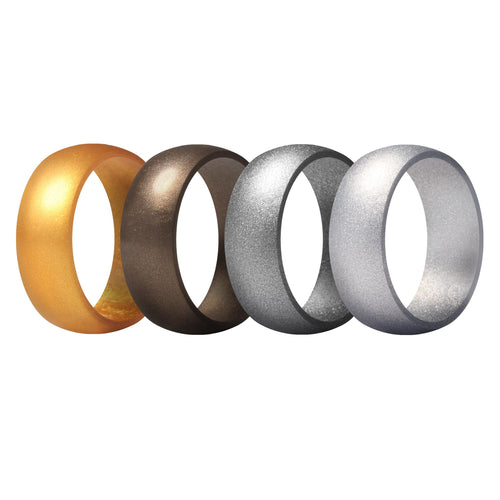 Men's Rings 4 Pack Round - 4th
