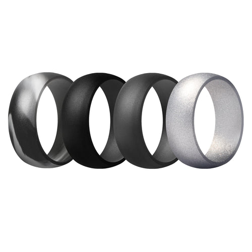 Men's Rings 4 Pack Round - 5th