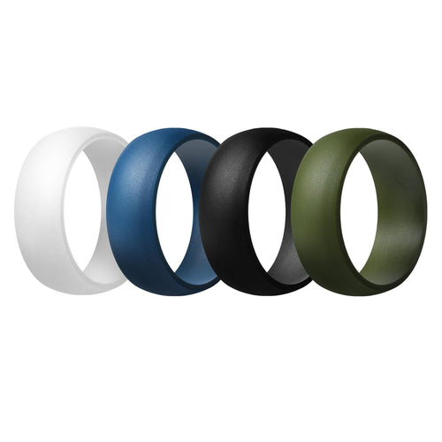 Men's Rings 4 Pack Round - 6th