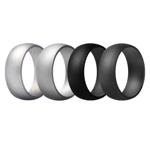 Men's Rings 4 Pack Round - 7th