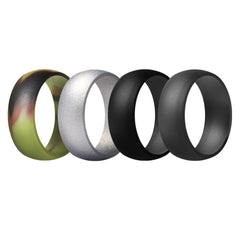 Men's Rings 4 Pack Round - 9th