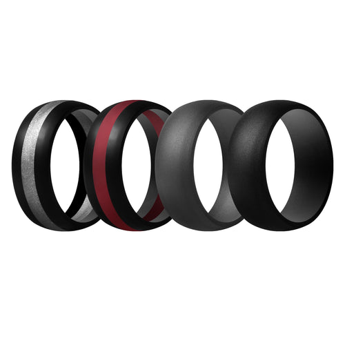 Men's Rings 4 Pack Middle Line - 1st