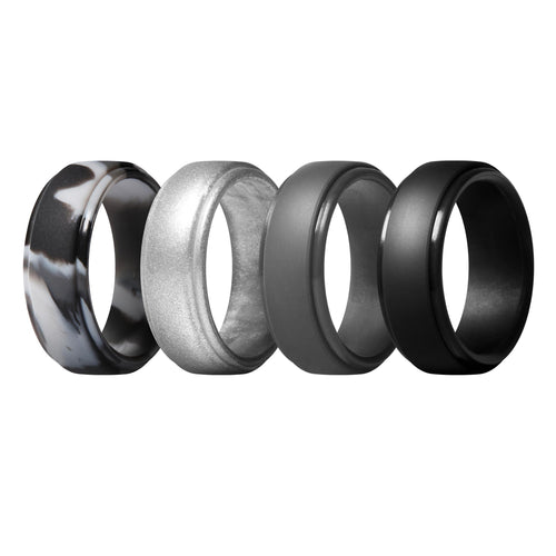 Men's Classic Rings 4 Pack - Fourth