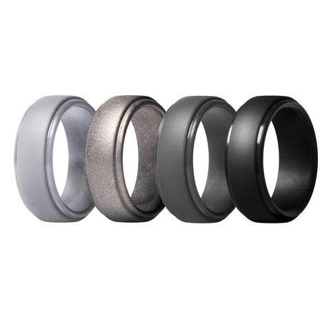 Men's Classic Rings 4 Pack - Second