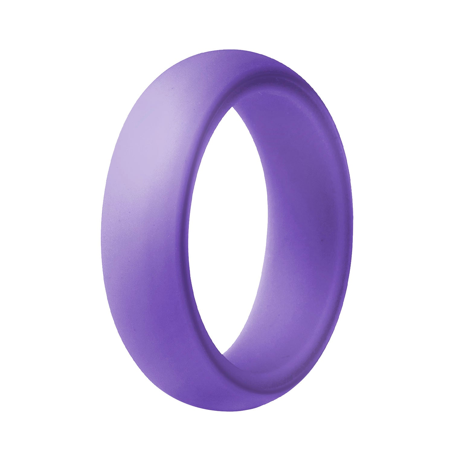 Women's Classic Silicone Ring - Purple