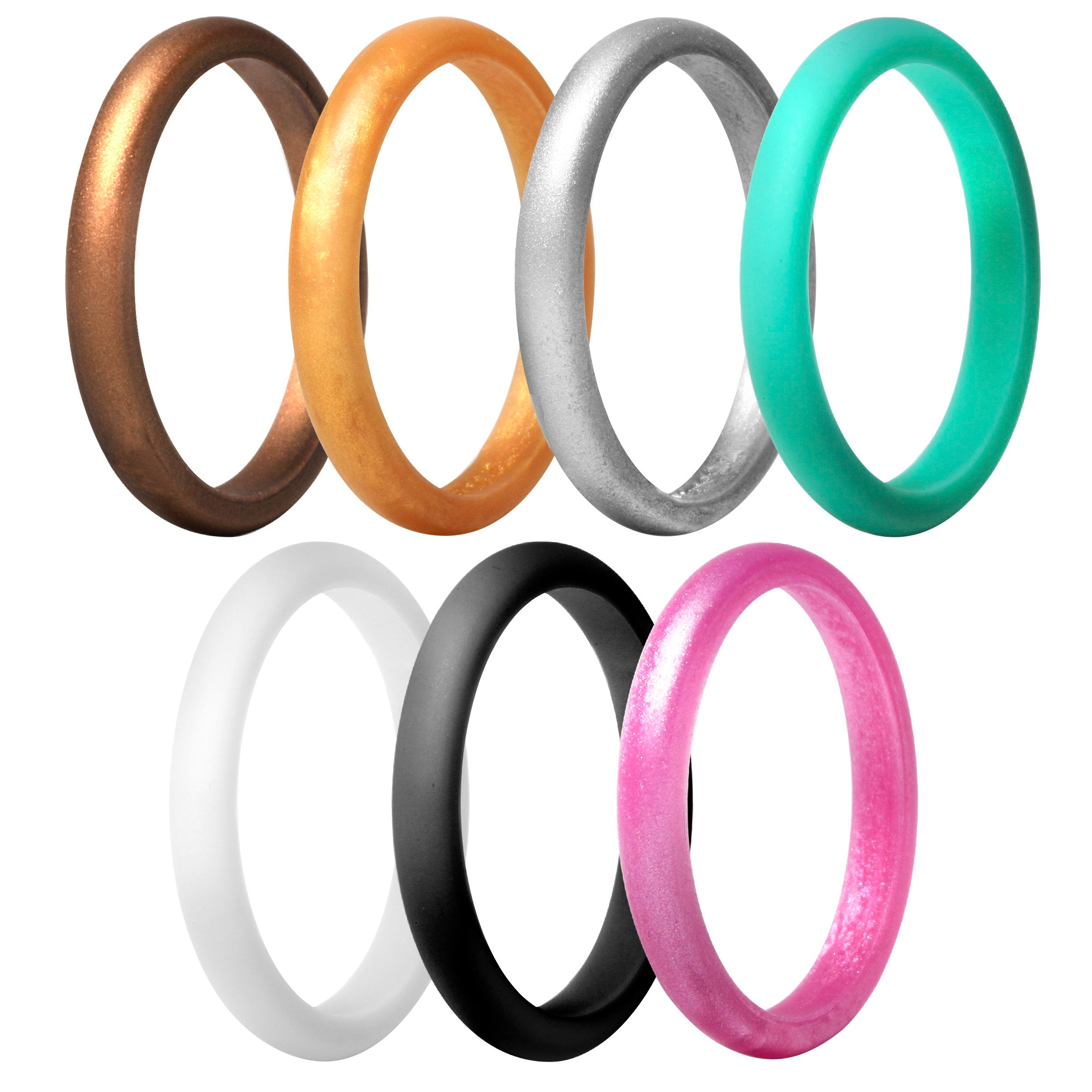 Stackable 7 Rings Pack - Royal