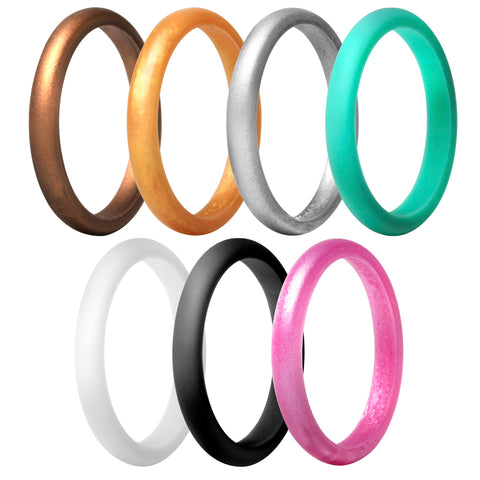 Pyramid Stackables 8 Rings Pack - Mermaid