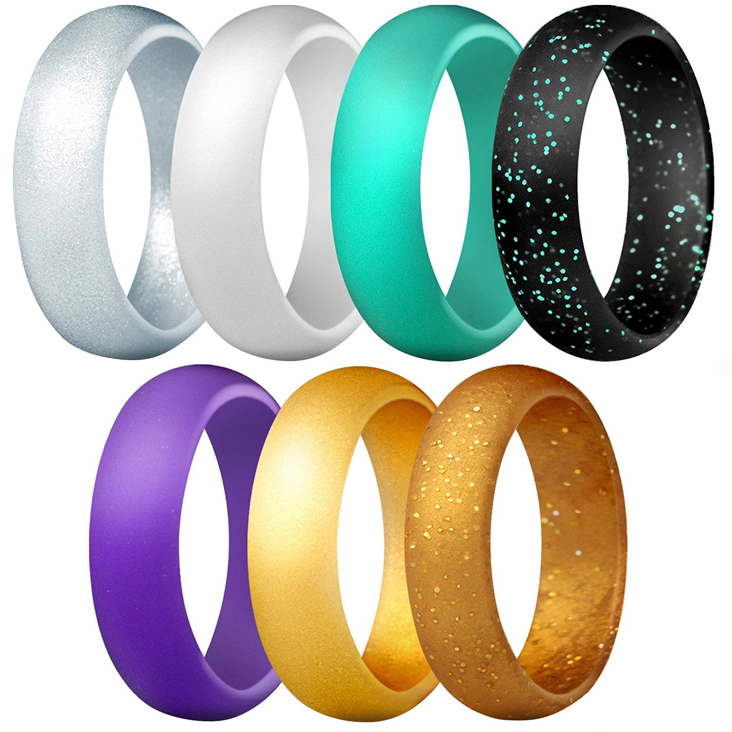 Women's Classic Rings 7 Pack - Galaxy
