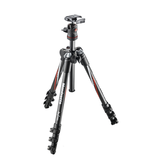 Manfrotto BeFree Compact Travel Carbon Fiber Tripod (Carbon) - B&C Camera - 4