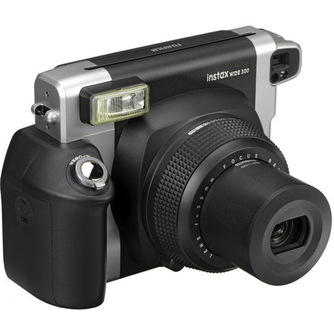 Fujifilm Instax Wide 300 Instant Camera - Black by Fujifilm at bandccamera