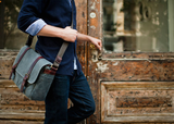 ONA The Brixton Messenger Bag (Smoke) - B&C Camera - 5