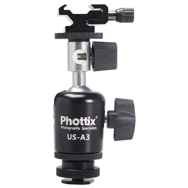 Phottix US-A3 Umbrella Swivel for Off-Camera Flash by Mac Group at B&C Camera