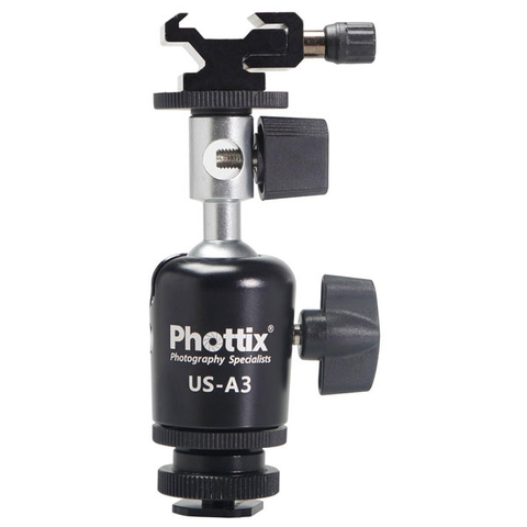 Phottix US-A3 Umbrella Swivel for Off-Camera Flash by Mac Group at bandccamera