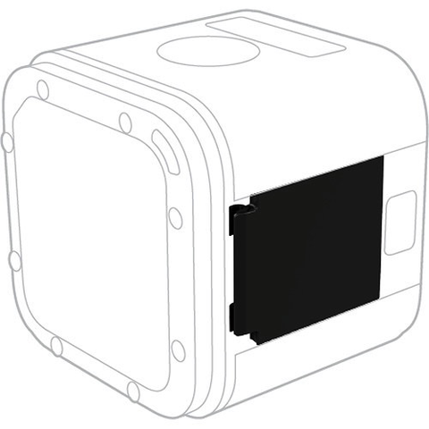 GoPro Replacement Door for HERO5 Session by GoPro at B&C Camera