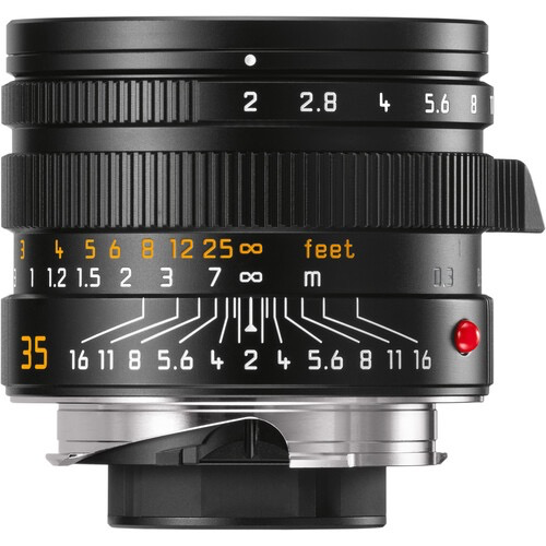 Leica APO-Summicron-M 35mm f/2 ASPH. Lens (Black) at B&C Camera
