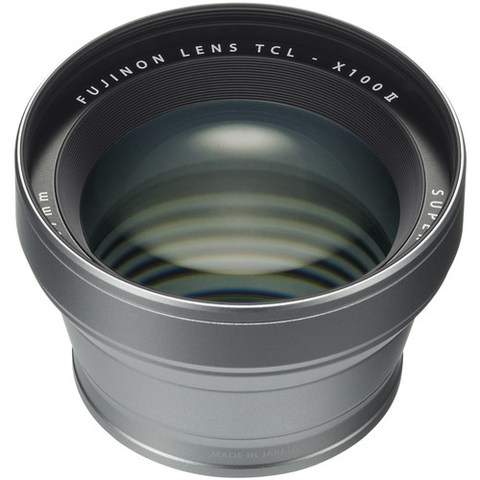 FUJI X100F TELE LENS SILVER by Fujifilm at B&C Camera