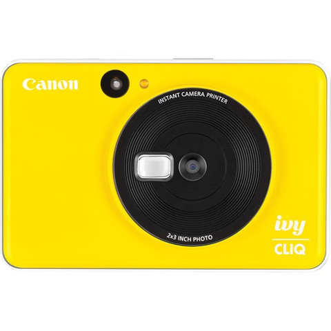 Canon IVY CLIQ Instant Camera Printer (Bumblebee Yellow) by Canon at bandccamera