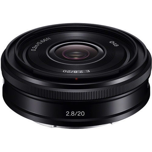 Sony 20mm f/2.8 Alpha E-mount Lens by Sony at bandccamera