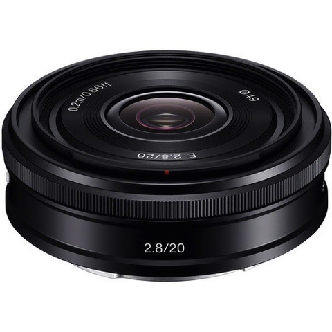 Sony 20mm f/2.8 Alpha E-mount Lens by Sony at B&C Camera