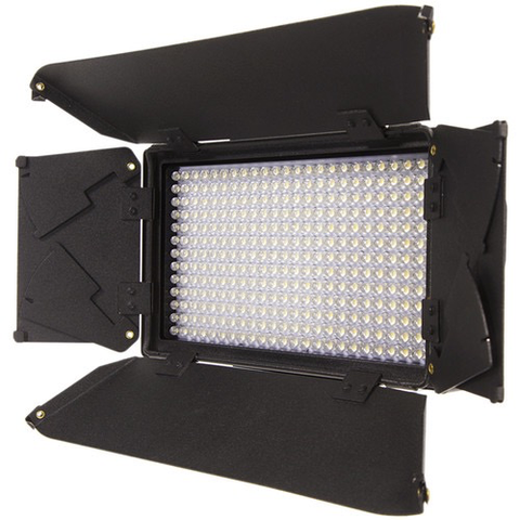 ikan Mylo MB4-TK Mini Bi-Color Portable Field LED Light Travel Kit with Barndoors by ikan at B&C Camera