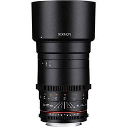 Rokinon 135mm T2.2 Cine DS Lens - Canon EF Mount by Rokinon at bandccamera