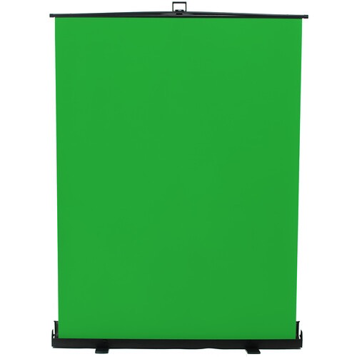 "ikan Homestream 76"" Tall Portable Pull-Up Background (Chroma Green)"