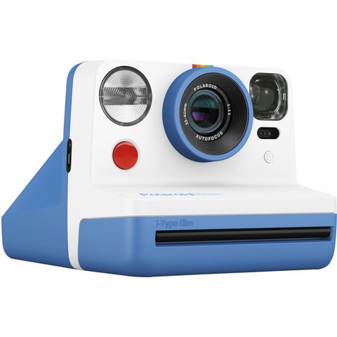 Polaroid Now Instant Film Camera (Blue)