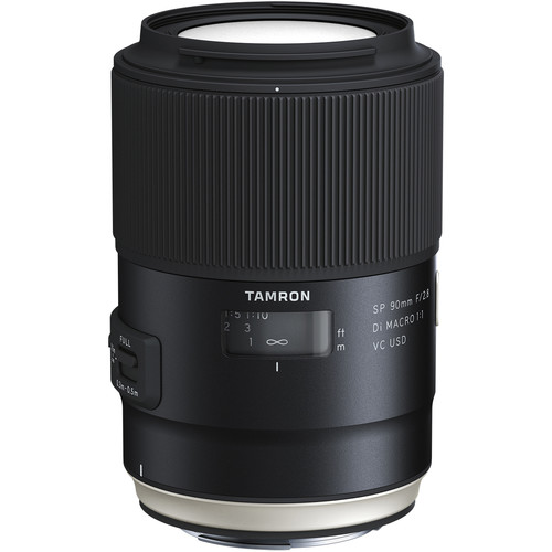Tamron SP 90mm f/2.8 Di Macro 1:1 VC USD Lens for Canon - B&C Camera