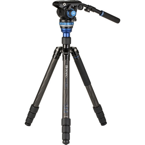 Benro C3883 Travel Angel Aero-Video Tripod Kit with Levelling Column and S6PRO Head