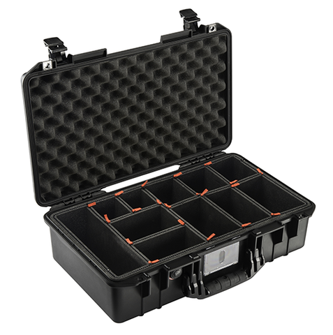 Pelican 1525 Air Case with Trek Pak Divider System - Black