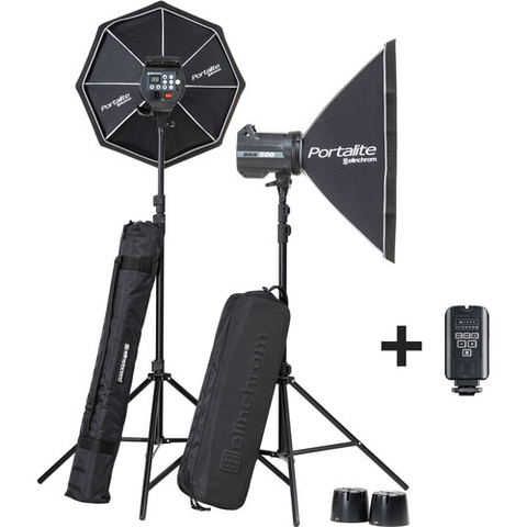 Elinchrom BRX 500/500 Softbox To Go Kit by Elinchrom at bandccamera