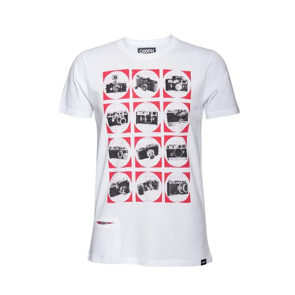 COOPH T-Shirt CAMCHART (WHITE)-LARGE - B&C Camera
