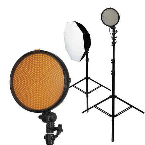 Promaster VL800B LED 2 Light Studio Kit / Bi-Color