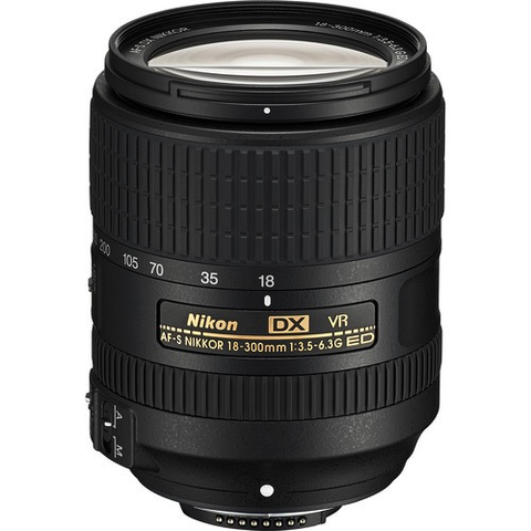 Nikon AF-S DX NIKKOR 18-300mm f/3.5-6.3G ED VR Lens by Nikon at B&C Camera