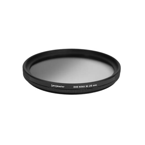 Promaster 49mm Digital HD Graduated Neutral Density 8X Lens Filter - Soft Edge - B&C Camera