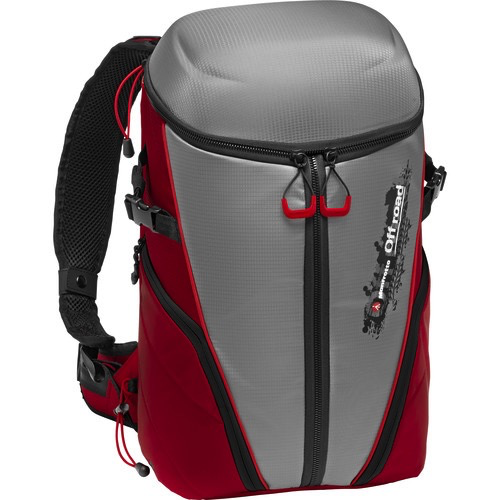 Manfrotto Off Road Stunt Backpack (Gray/Red) - B&C Camera - 1