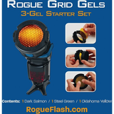 Rogue 3-in-1 Flash Grid with 3-Gel Starter Kit - B&C Camera - 2