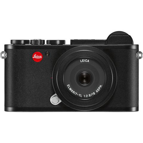 Leica CL Mirrorless Digital Camera with 18mm Lens Starter Bundle (Black) by Leica at bandccamera