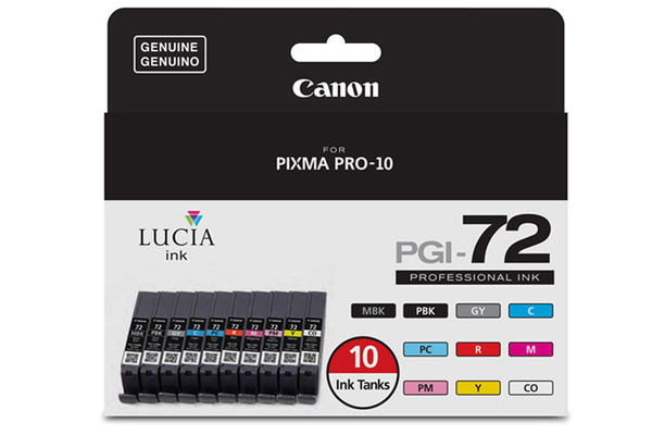 Canon PGI-72 Ink - 10 Color Value Pack - B&C Camera