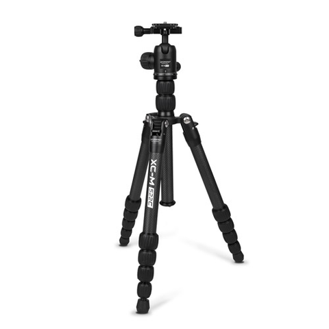 Promaster XC-M 522CK Professional Carbon Fiber Tripod (Black) - Kit with Head by Promaster at B&C Camera