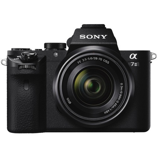 Sony Alpha a7 II Mirrorless Digital Camera with FE 28-70mm f/3.5-5.6 OSS Lens by Sony at bandccamera