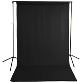 Savage Economy Background Kit 5x9' (Black Backdrop)