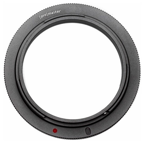 Promaster 52mm Lens Reverse Ring for Canon